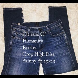 Citizens Of Humanity • Rocket Crop • High Rise